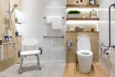 Comment faire l'aménagement PMR de salle de bain ?
