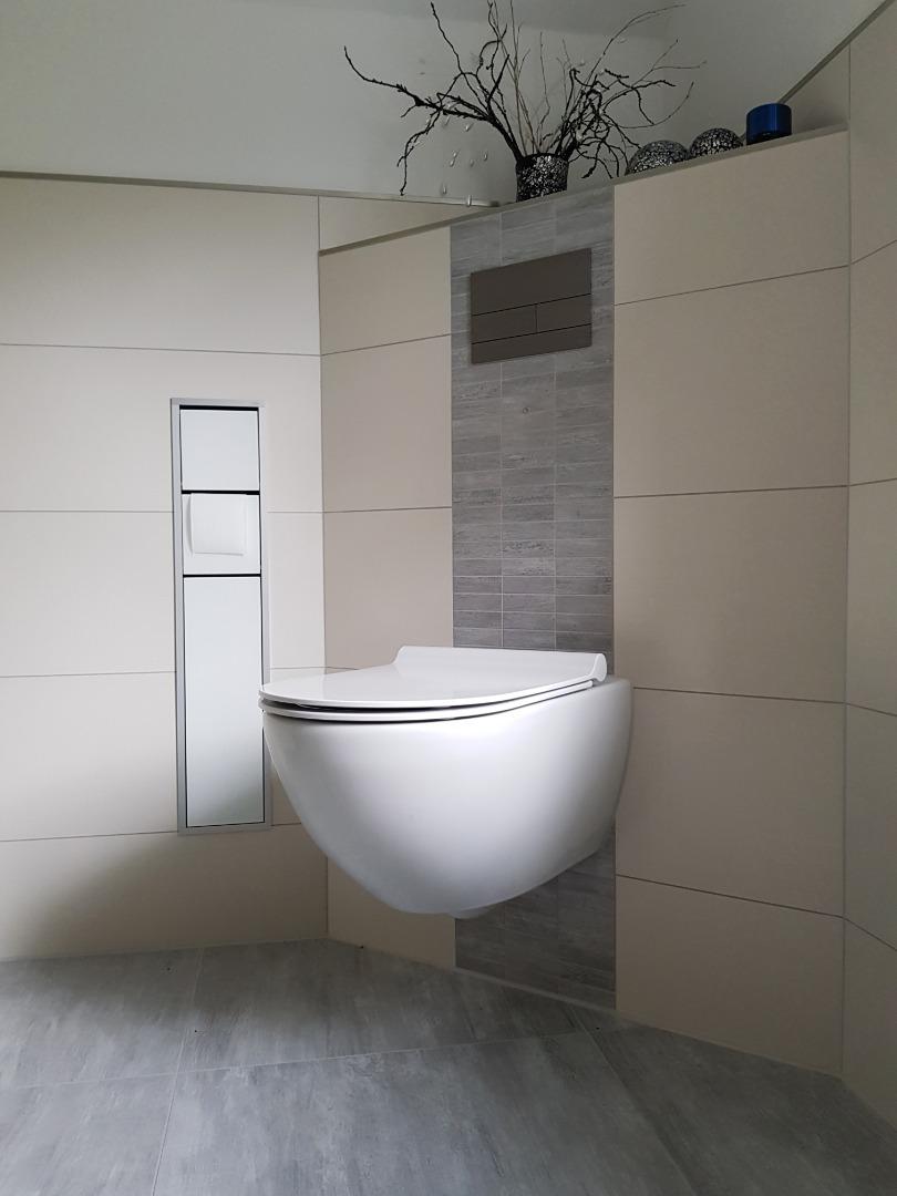 Installation de wc bati support